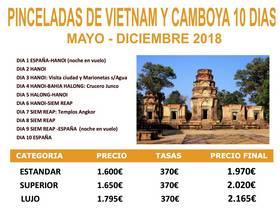 PINCELADAS DE VIETNAM Y CAMBOYA 10 DIAS